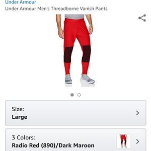 c3ba636b Under Armour Men's Threadborne Vanish Pants Boutique